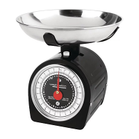 Weighstation Black Mechanical Scales - 5kg