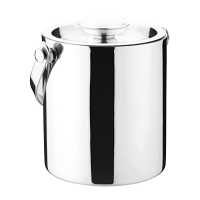 Olympia St/St Barware Ice Bucket Double Wall with Lid - 1Ltr