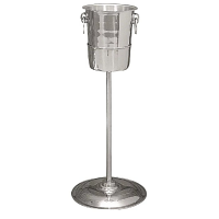 Olympia Brushed Stainless Steel Wine And Champagne Bucket Stand