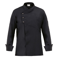 Giblor Emmanuel Chefs Jacket Long Sleeve Black