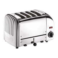 Dualit Stainless Plus 4 Slot Toaster (M)