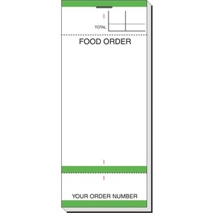 Bar Food Order Pad (Pack of 50)