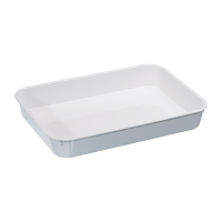 Deep Polystyrene Food Tray 14in