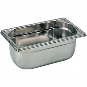 Bourgeat Stainless Steel 1/4 Gastronorm Pan 100mm