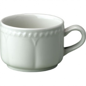 Buckingham White Stacking Teacup - 7.5oz (Box 24)