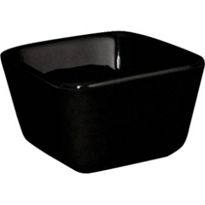 Olympia Mini Dish Tall Square Black - 7 1/2x7 1/2x4.8cm (Box 12)