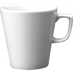 White Cafe Latte Mug - 12oz (Box 12)