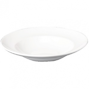 "White Pasta Plate Small  11"" (Box 12)"