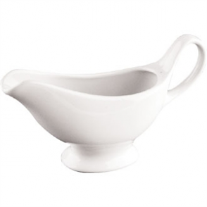 Olympia Whiteware Gravy Boats 215ml 7.5oz (Box 6)
